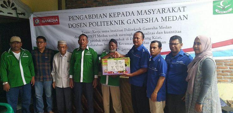 Kerjasama Peserta PKM Politeknik Ganesha Medan dengan BPRPI