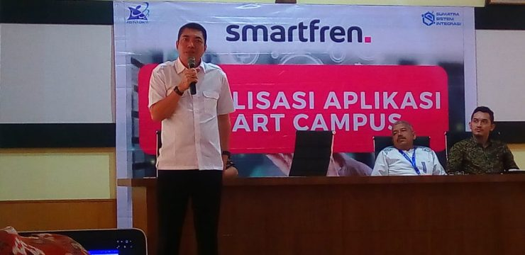 Sosialisasi Aplikasi Smart Campus Oleh LLDIKTI Wilayah 1