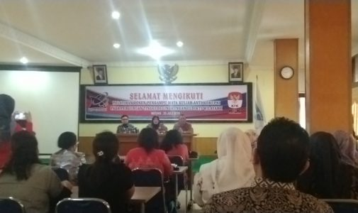 Seminar Anti Korupsi Oleh LLDikti Wilayah 1