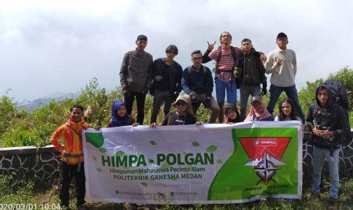 HIMPA-POLGAN Menjelajah Puncak Sipiso-piso