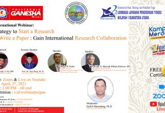 International Webinar: Strategy to Start a Research  & Write a Paper : Gain International Research Collaboration